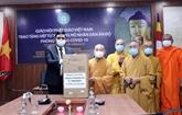 L'Église bouddhique de Hô Chi Minh-Ville offre des respirateurs à l'Inde
