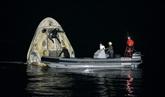 Retour sur Terre réussi du vaisseau SpaceX avec quatre astronautes de l'ISS