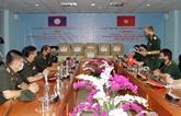 Aide du ministère vietnamien de la Défense à son homologue laotien