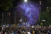 Ligue des Champions : les fans de Chelsea en liesse