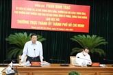 Hô Chi Minh-Ville accélère la lutte contre la corruption