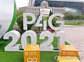 Changement climatique : le Sommet P4G 2021 s'ouvre à Séoul