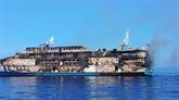 Incendie à bord d'un ferry indonésien : 274 personnes secourues, un disparu