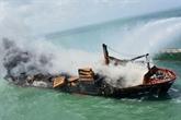 Navire en feu : le Sri Lanka enquête et va attaquer l'armateur