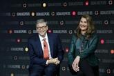Bill et Melinda Gates divorcés mais continuent à gérer leur fondation