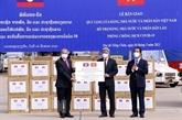 Anti - COVID-19 : Le Vietnam accorde 500.000 dollars au Laos