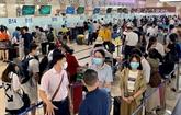 Les aéroports desservent environ 1,5 million de voyageurs pendant quatre jours de vacances