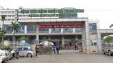 COVID-19 : mise en quarantaine de l'Hôpital central des maladies tropicales de Kim Chung à Hanoï