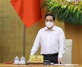 Le PM préside la réunion d'avril du gouvernement