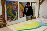 Un pionnier du graffiti en résidence à Marseille