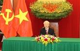 Vietnam - Cuba : conversation téléphonique entre Nguyên Phu Trong et Miguel Diaz-Canel Bermudez
