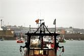 Brexit : démonstration de force des pêcheurs français devant Jersey