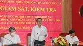 Élections législatives : le vote anticipé dans le district insulaire de Truong Sa