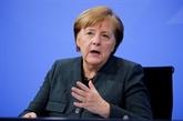 Virus : Merkel et Macron appellent les États-Unis à autoriser l'exportation des vaccins