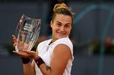 Tennis : Sabalenka se positionne, Zverev enchaîne à Madrid