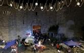 Jérusalem : nouveaux heurts, plus de 90 blessés
