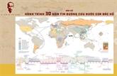 Publication d'une carte sur la voie du salut national de l'Oncle Hô