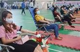 Lancement de la campagne de don de sang