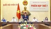 Le président de l'AN préside la 7e réunion du Conseil électoral national
