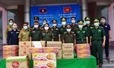 COVID-19 : Quang Nam offre du matériel médical à Sékong
