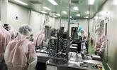 La production d'équipements de protection individuelle a été multipliée par six en 2020