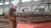 Forte hausse de la production industrielle en cinq mois