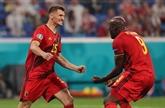 Euro de football : la Belgique s'impose 3-0 face à la Russie