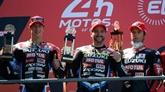 Suzuki remporte les 24H du Mans motos, une première depuis 2015