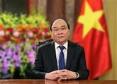 Lettre du président Nguyên Xuân Phuc à l'Académie militaire de logistique