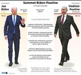 Biden à Genève pour une rencontre avec Poutine lourde d'enjeux