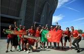 Euro : une marée rouge à Budapest et un stade plein pour Hongrie - Portugal