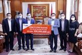Une coentreprise Vietnam - Laos soutient le Fonds de vaccins contre le COVID-19