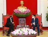 Le Vietnam attache de l'importance à la coopération avec Singapour