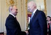 Biden et Poutine louent un sommet constructif à Genève