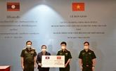Aide du ministère vietnamien de la Défense à la partie laotienne