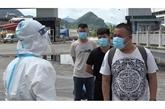 Cao Bang : remise de citoyens chinois entrés illégalement au Vietnam