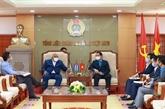 Renforcer la coopération syndicale Vietnam - Cuba