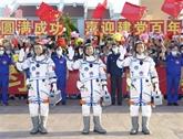 Les astronautes à bord du Shenzhou-12 sont entrés dans le module central de la station spatiale chinoise