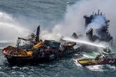 Sri Lanka : le feu éteint après 13 jours d'incendie sur le navire en perdition