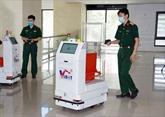 Des robots médicaux dans les zones d'isolement à Bac Giang