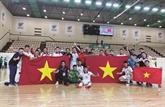 Le Vietnam de nouveau qualifié pour la Coupe du monde de futsal