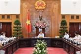 Le Premier ministre Pham Minh Chinh travaille avec le ministère des AE