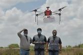 Premiers essais de livraison par drone susceptible d'atteindre des zones reculées
