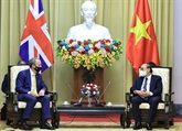 Le chef de l'État reçoit un ministre britannique