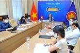 Réunion en ligne des hauts officiels de l'ASEAN+3