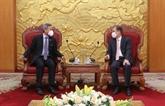 Renforcement des relations entre le Vietnam et Singapour