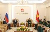 Vietnam et Russie renforcent leur coopération en matière de technique militaire