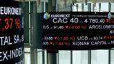 Regain d'inquiétude à la Bourse de Paris, qui termine en baisse de 0,91%