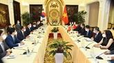 Vietnam - R de Corée : entretien entre les ministres des Affaires étrangères