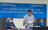 Le peuple vietnamien se tient toujours aux côtés de Cuba